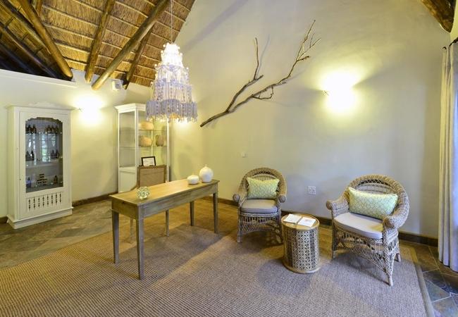 Lobengula Spa Reception