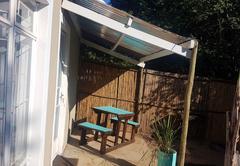 Garden cottage selfcatering chalet
