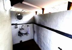 Woodpecker bathroom