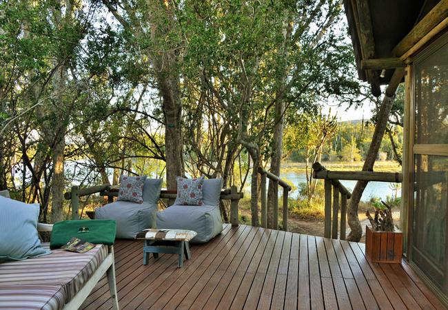 River Camp Veranda