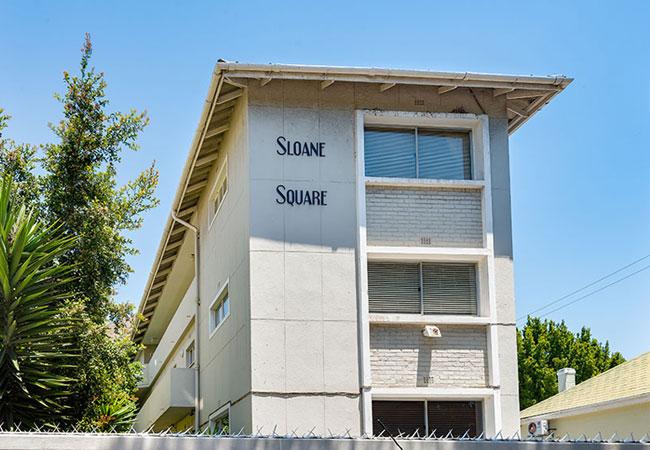 Sload Square exterior