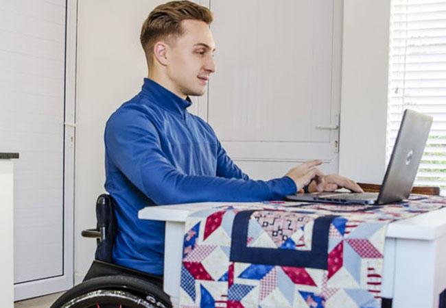 Disabled Work desk