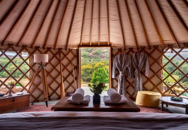 The Yurt site