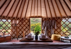 The Yurt site