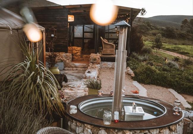 Yurt bedroom