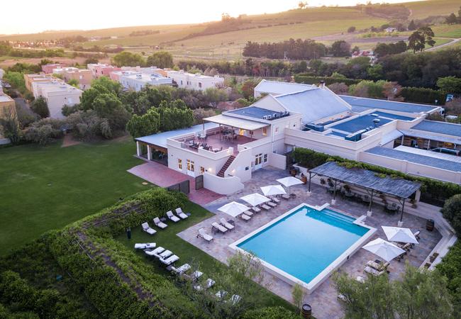 Aerial View - Main Pool