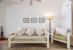 Kitchen fully equipped for self-catering