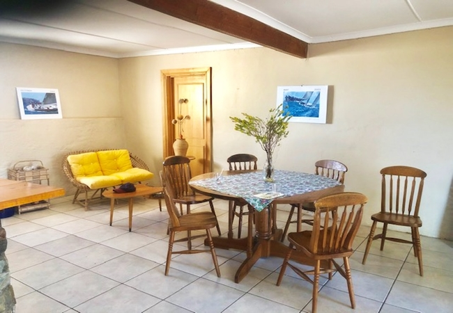 Flatlet Bedroom 1 and living area