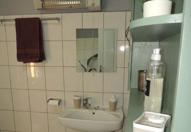 bathroom with amenities