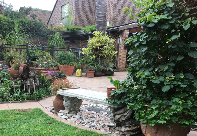 Outside Entrance and Private Garden