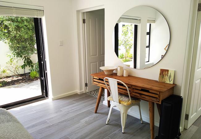 Main bedroom table