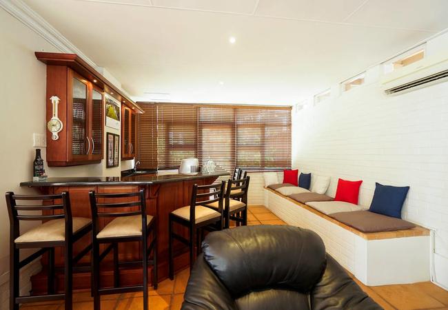 Indoor pub area