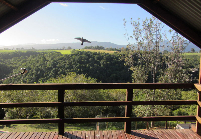 View from second room