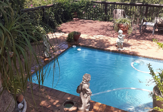 Pool and view-deck