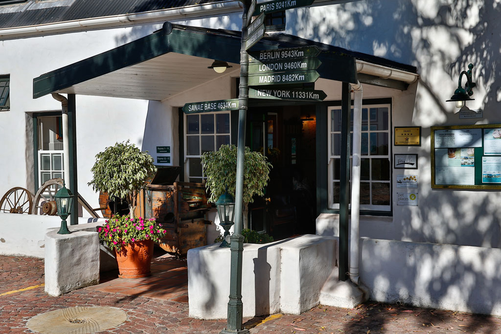 The Farmhouse Hotel In Langebaan Western Cape