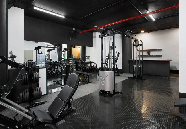 Gym - spacious & well equipped
