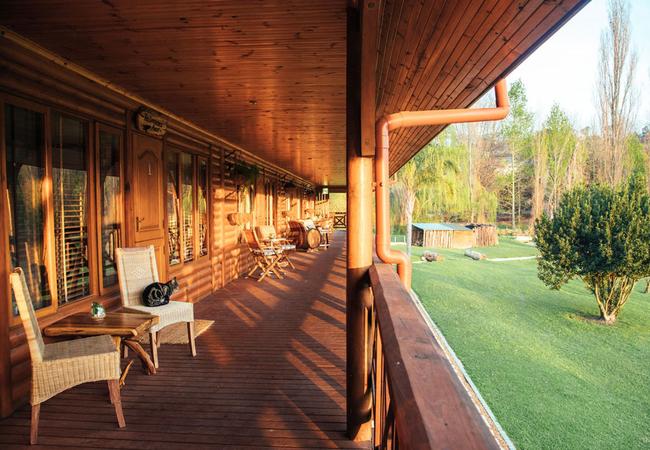 The Log Cabin