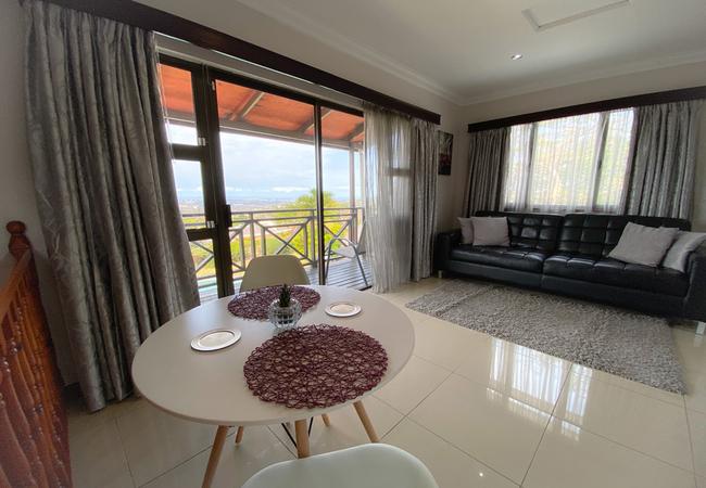 The Penthouse balcony