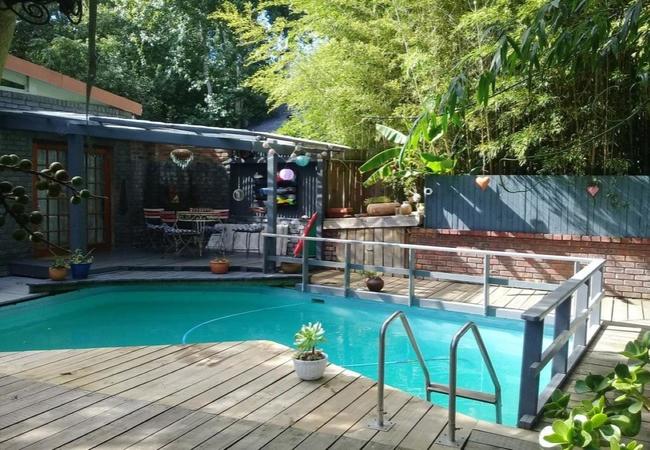 Walkways through our gardens