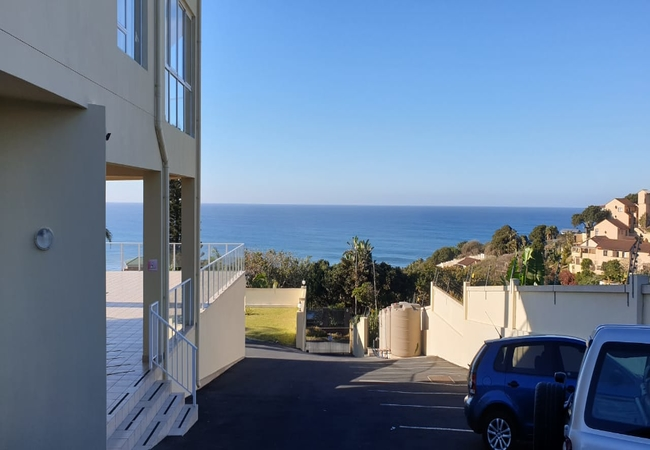 Sea view from inside and Veranda