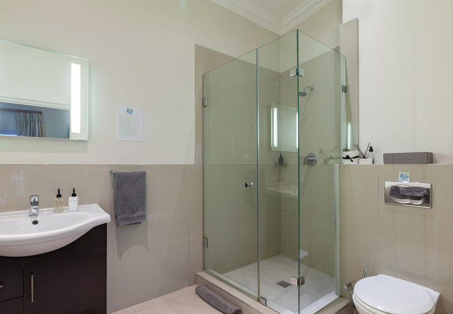 Bathroom in all rooms