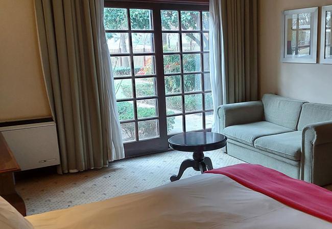 Garden View Double Room
