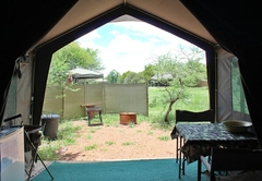 Russet Bush Rustic Tent - Double Bed