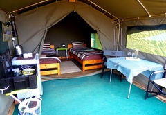 Russet Bush Rustic Tent - Single Beds