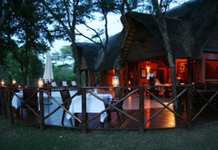 Dining at Thula Thula