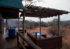 Luxury Tent Deck / Pool