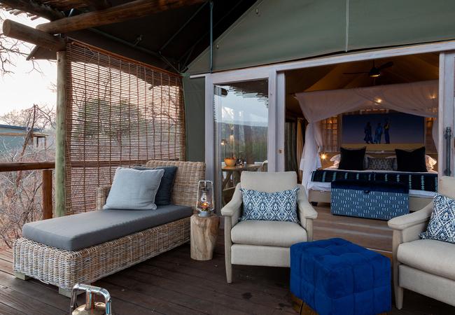 Private Deck of Suite