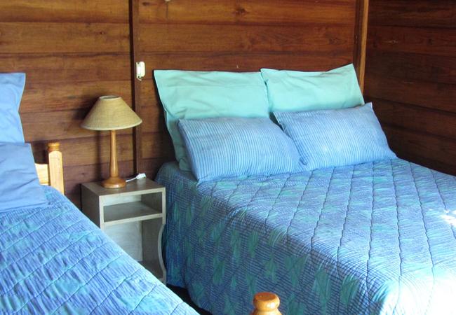 3 sleeper en-suite wooden cabin