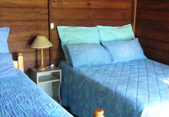 3 sleeper en-suite wooden cabin