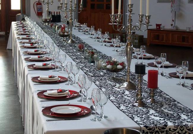 Wedding set up as per client request