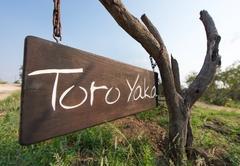 Toro Yaka Sign