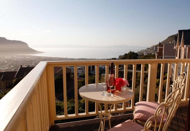 The Romantic Room balcony