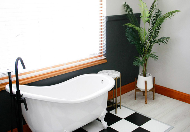 Deluxe King Room (Bath and Shower)
