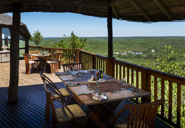 Rock Lodge dining