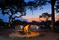 Dining at Safari Lodge