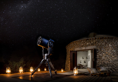 Stargazing at Dining at Safari Lodge