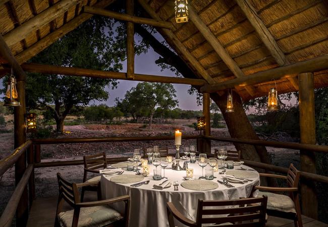 Private dining at Dining at Safari Lodge