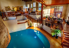 Indoor Pool from Balcony