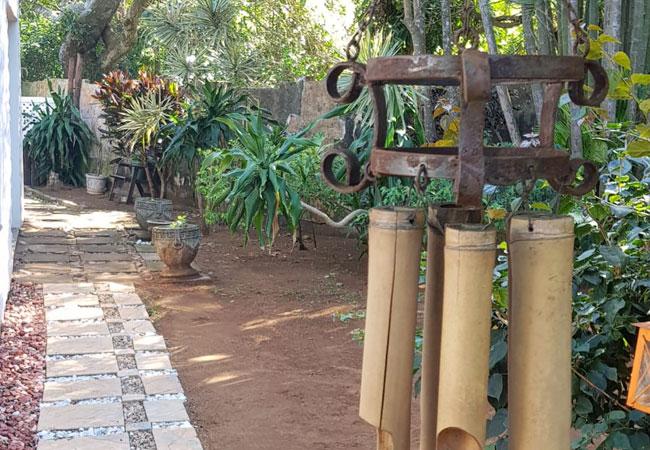 Garden Room - walkway to room