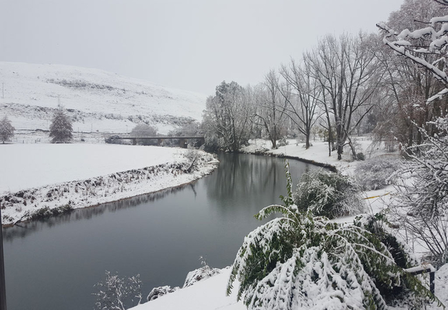 Winter River Bend