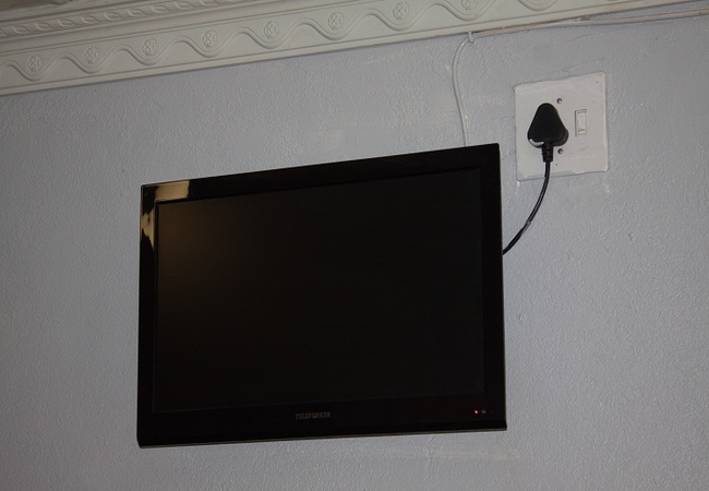 Tv in all rooms