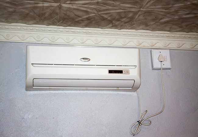 Air-conditioning in all rooms