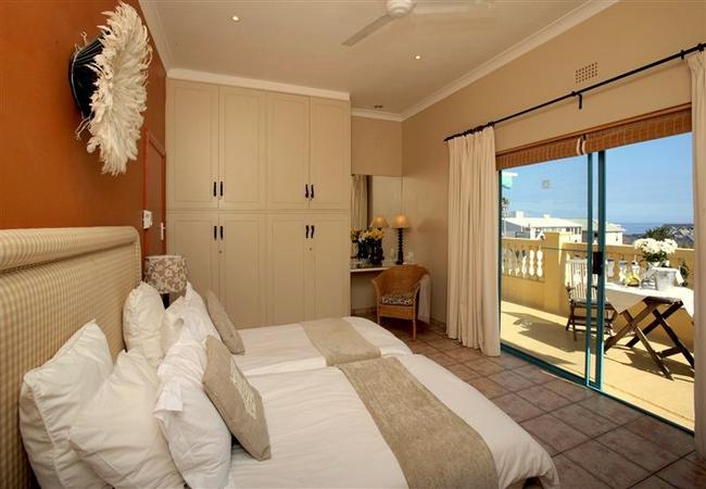 Large Sea Facing Twin Room with Balcony