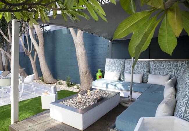 Villa Zest Bedouin garden