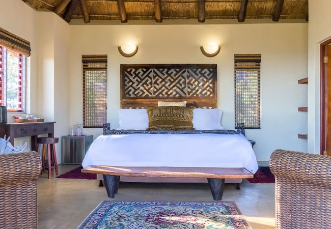 Left Chalet Bedroom