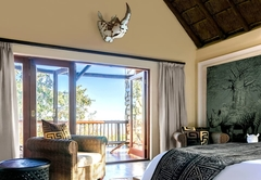 Left Chalet Bedroom